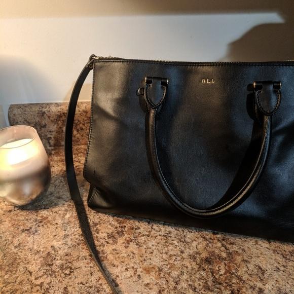e3c43fe2bf Vintage RLL bag. M 5b59195a5c4452d1daff240f. Other Bags you may like. Ralph  Lauren Brown Suede Tote
